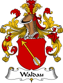 German Coat of Arms for Waldau