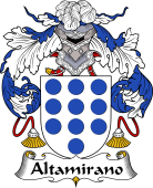 Portuguese Coat of Arms for Altamirano