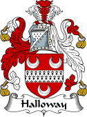 English Coat of Arms for Halloway