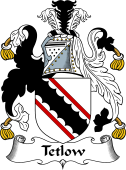 English Coat of Arms for Tetlow