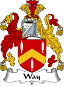English Coat of Arms for Way