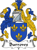 English Coat of Arms for Burrows