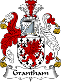 English Coat of Arms for Grantham