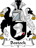 English Coat of Arms for Bostock