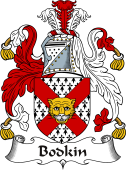 Irish Coat of Arms for Bodkin