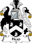 English Coat of Arms for Head