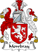 English Coat of Arms for Mowbray
