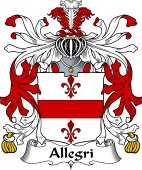Italian Coat of Arms for Allegri