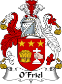 Irish Coat of Arms for O'Friel