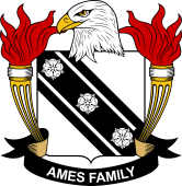 American Coat of Arms for Ames