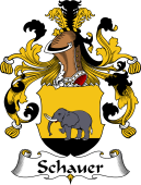 German Coat of Arms for Schauer