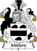 English Coat of Arms for Mitford
