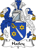 English Coat of Arms for Hatley