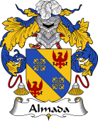 Portuguese Coat of Arms for Almada