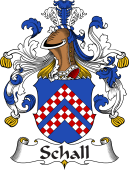 German Coat of Arms for Schall