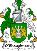 Irish Coat of Arms for O'Shaughnessy