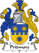 English Coat of Arms for Pridmore