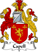 English Coat of Arms for Capell