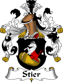German Wappen Coat of Arms for Stier