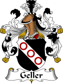 German Wappen Coat of Arms for Geller