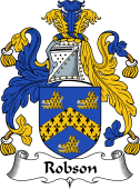 English Coat of Arms for Robson