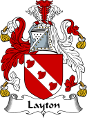 English Coat of Arms for Layton II