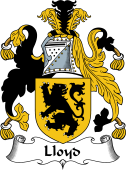 English Coat of Arms for Lloyd