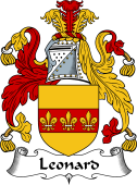 English Coat of Arms for Leonard