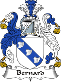 Irish Coat of Arms for Bernard