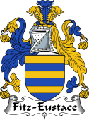 Irish Coat of Arms for Fitz-Eustace