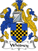 English Coat of Arms for Whitney