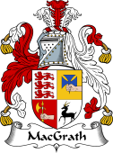 Irish Coat of Arms for MacGrath or MacGraw