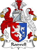 English Coat of Arms for Roswell