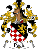 German Coat of Arms for Peck