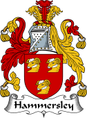 English Coat of Arms for Hammersley