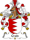 German Coat of Arms for Cratz