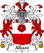 Italian Coat of Arms for Albani