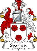 English Coat of Arms for Sparrow