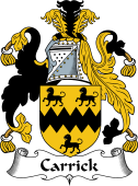 English Coat of Arms for Carrick