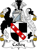 English Coat of Arms for Calley