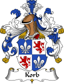 German Wappen Coat of Arms for Korb