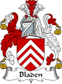 Irish Coat of Arms for Bladen
