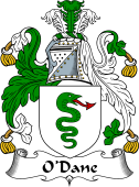 Irish Coat of Arms for O'Dane