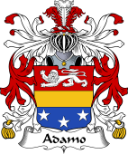 Italian Coat of Arms for Adamo