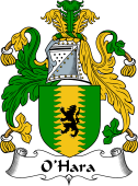 Irish Coat of Arms for O'Hara