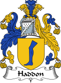 English Coat of Arms for Haddon