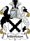 English Coat of Arms for Middleton