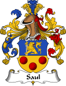 German Wappen Coat of Arms for Saul
