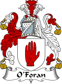 Irish Coat of Arms for O'Foran