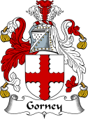 English Coat of Arms for Gorney